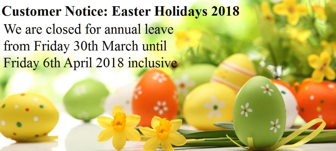 George Quinn Ltd - Easter Banner 2018