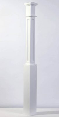 Image of Box Newel Post | George Quinn Stair Parts Plus
