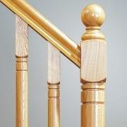 Erne-Newel-Cap-Closeup-Ball—George-Quinn-Stair-Parts-Plus