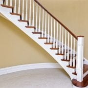 George Quinn Stair Parts – Boston Primed Painted Spindles with Box Post