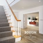 Pin Top Spindles Staircase -Painted Boston - George Quinn Stair Parts