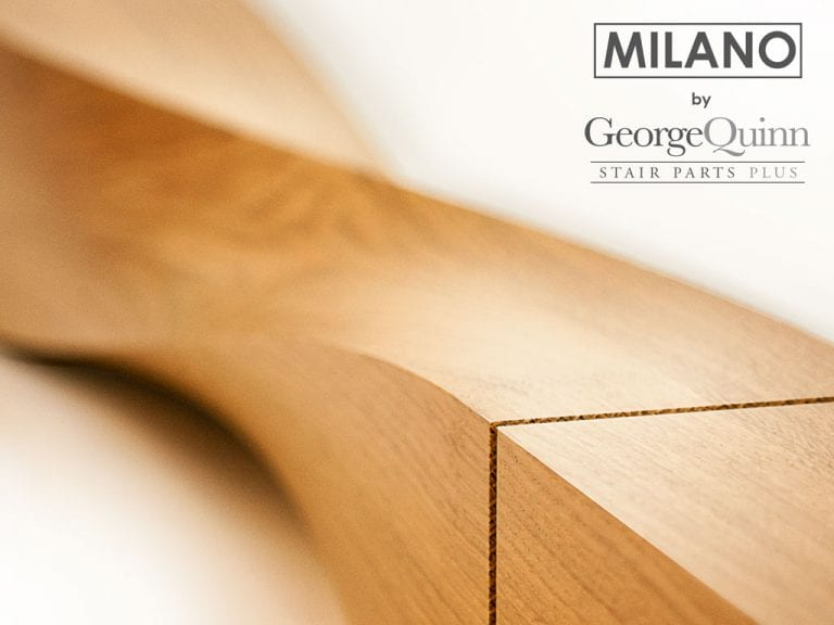 Newel for Staircase-Twist Milano-George Quinn Stair Parts Plus
