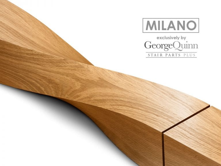 Spindles for Staircase-Twist Milano-George Quinn Stair Parts Plus