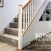 Stair-Parts-Stop-Chamfered-Spindles-Boyne-Painted-Oak-Stairs-George-Quinn-Stair-Parts-Plus