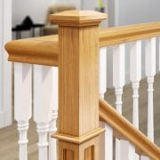 Staircase-Pyramid-Newel-Cap-Closeup