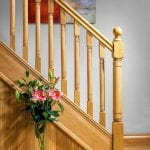 Modern Stair Parts - Erne Spindles oak- George Quinn Stair Parts Plus