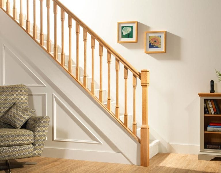 Minimal Stair Parts - Dublin Room View - George Quinn Stair Parts Plus