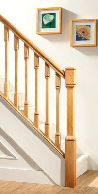 Modern Stair Parts -Dublin- George Quinn Stair Parts Plus