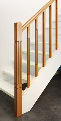 Modern Stair Parts -Lisbon- George Quinn Stair Parts Plus