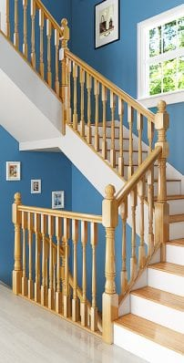 Traditional Staircase Parts - Achill - George Quinn Stair Parts Plus