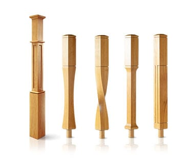 Staircase Newel Posts - George Quinn Stair Parts Plus