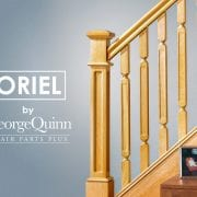 Staircase-Oak-Box-Newel-Post-Oriel-Spindles-George-Quinn-Stair-Parts-Plus