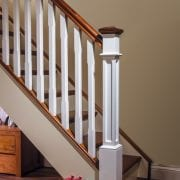 Staircase-Primed-Box-Newel-Post-Walnut-George-Quinn-Stair-Parts-Plus