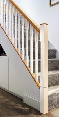 Chamfered Square Stair Part Collection - Boyne - George Quinn Stair Parts