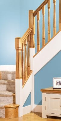 Modern Staircase Parts - Paris - George Quinn Stair Parts Plus