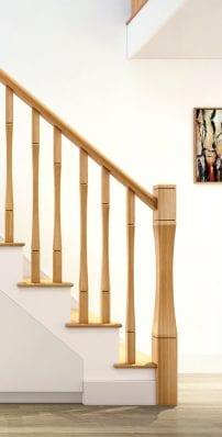Modern Stair Parts -Vienna - George Quinn Stair Parts Plus