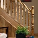 Image of Base rail used in our Exclusive staircase design, Corby collection - GQ Stair Parts Plus