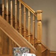 Base rail used in Modern staircase design, Oriel collection – GQ Stair Parts Plus