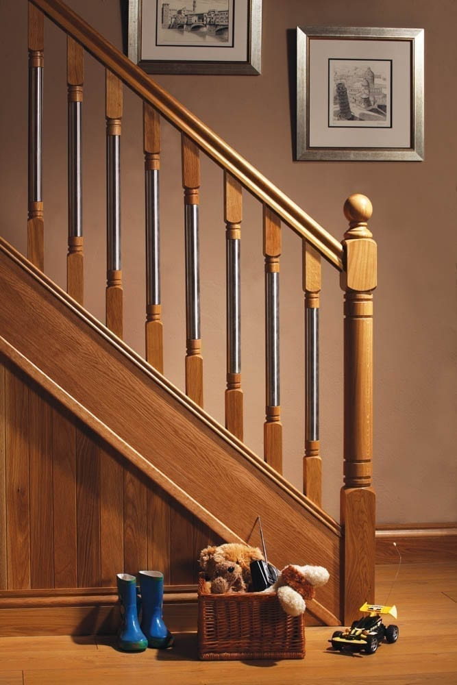 Image of Handrail used in a Modern staircase design - George Quinn stair parts plus