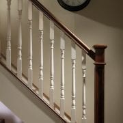Base rail used in Traditional staircase design Achill collection – GQ Stair Parts Plus