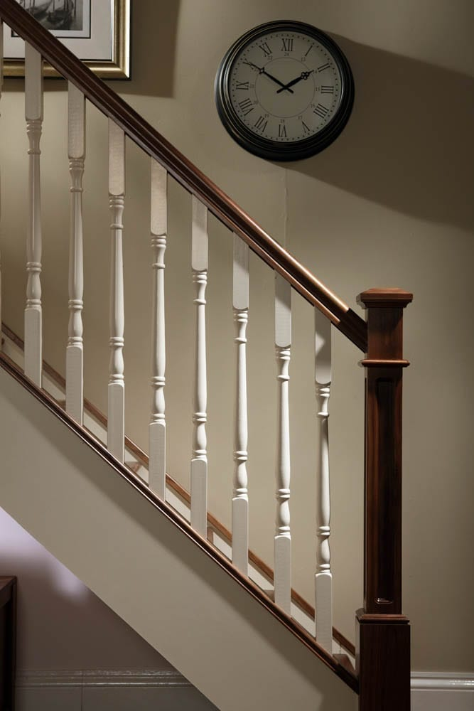 Image of Base rail used in Traditional staircase design Achill collection - GQ Stair Parts Plus