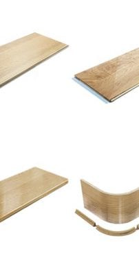 Staircase Cladding - stair treads steps and risers - George Quinn Stair Parts