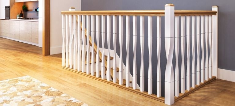 How to paint a staircase