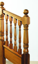 Bantry stair parts collection - 118 mm newel posts and 56 mm stair spindles