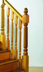 Cabra stair parts collection - 91 mm newel posts and 46 mm stair spindles